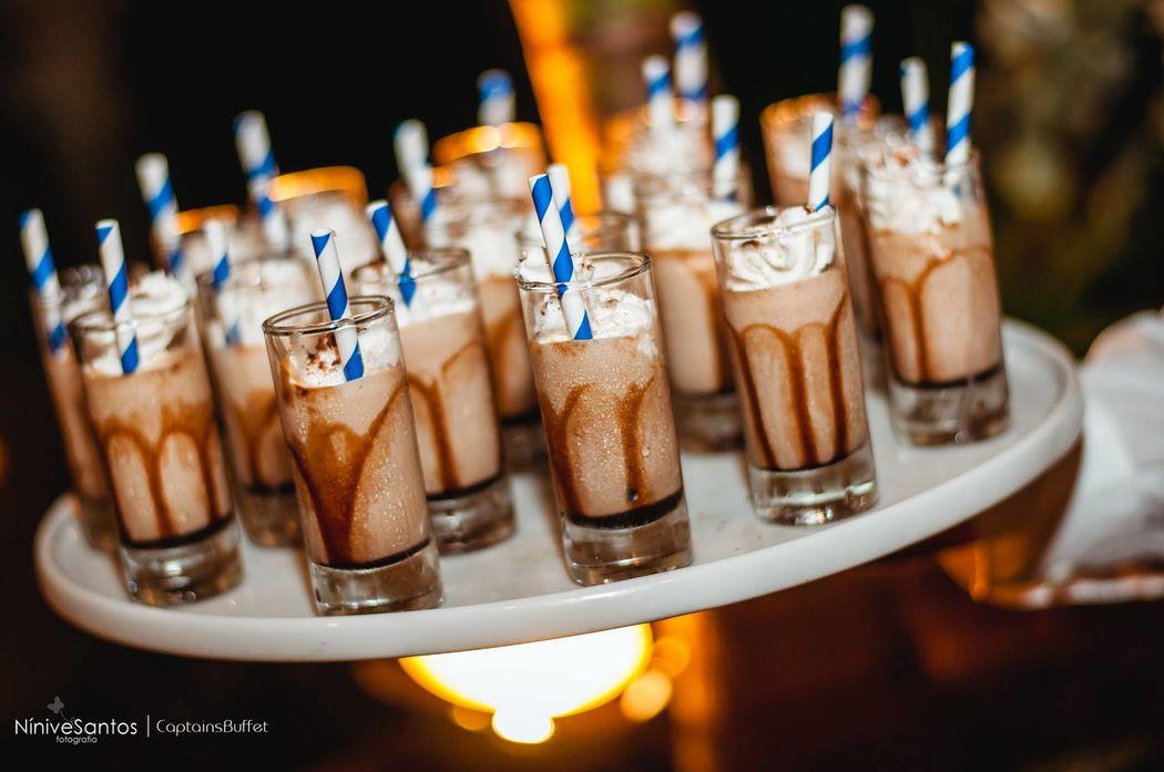 Milkshake de ovomaltine - Lanchinho da meia noite - Lanchinho da meia noite