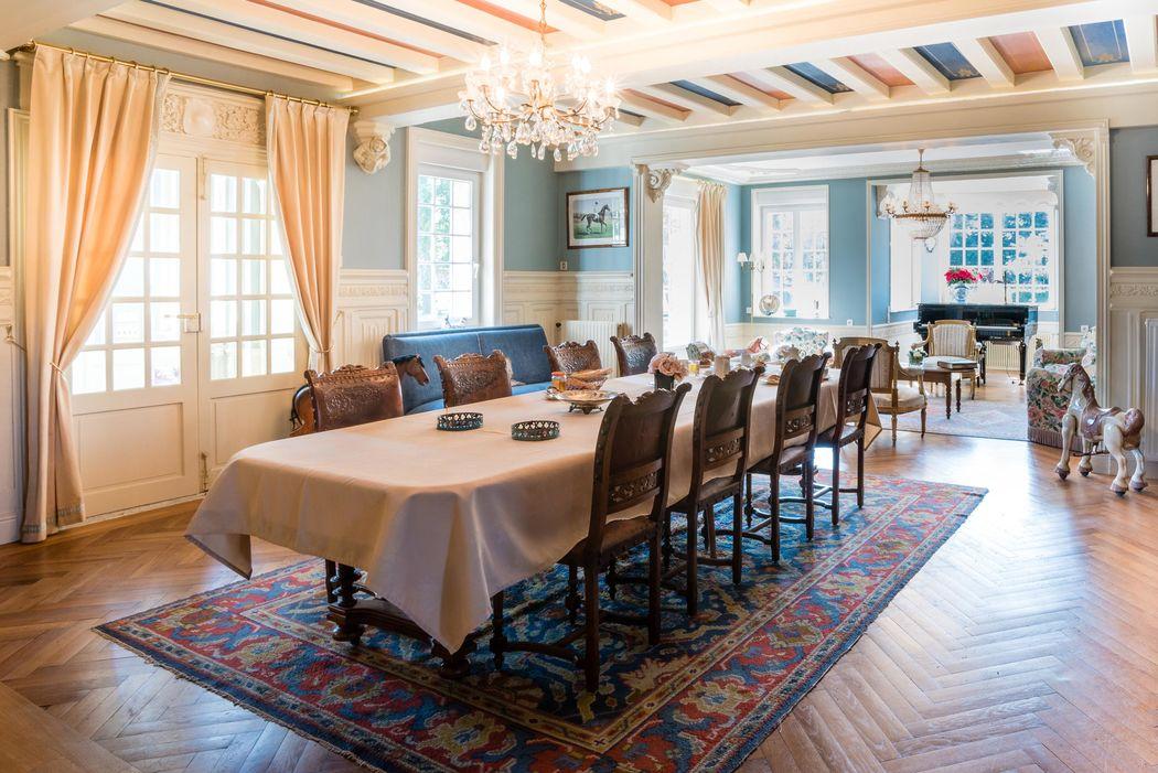 Manoir de Sens - Salle des petits-déjeuner