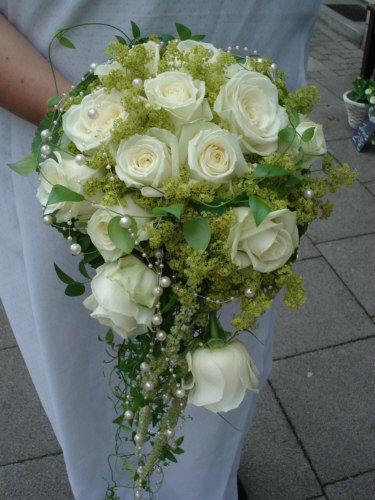 Beispiel: Hochzeitsfloristik, Foto: Blatt & Blüte.