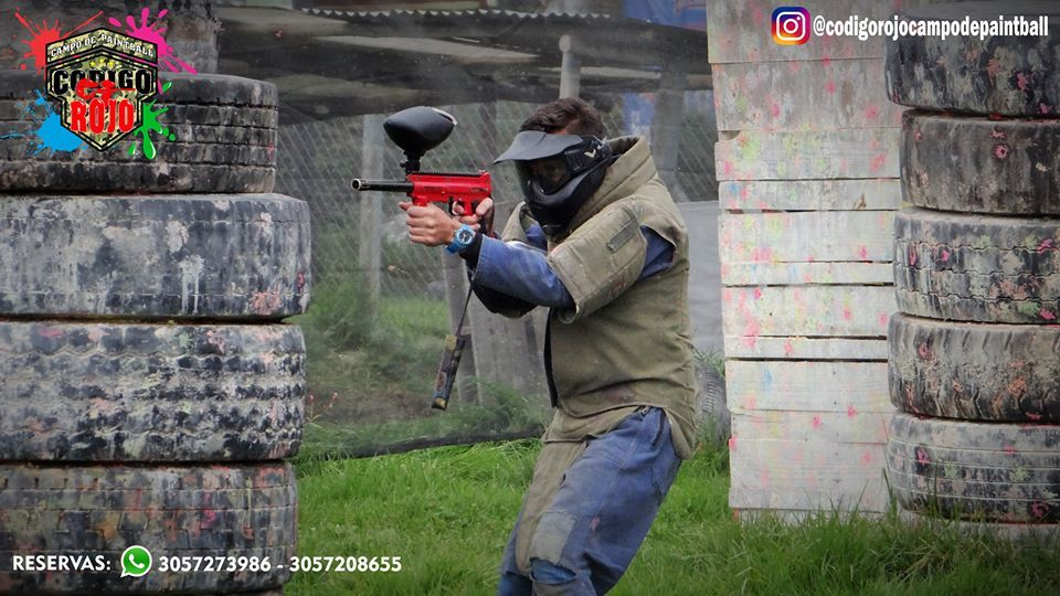 Campo de Paintball Código Rojo