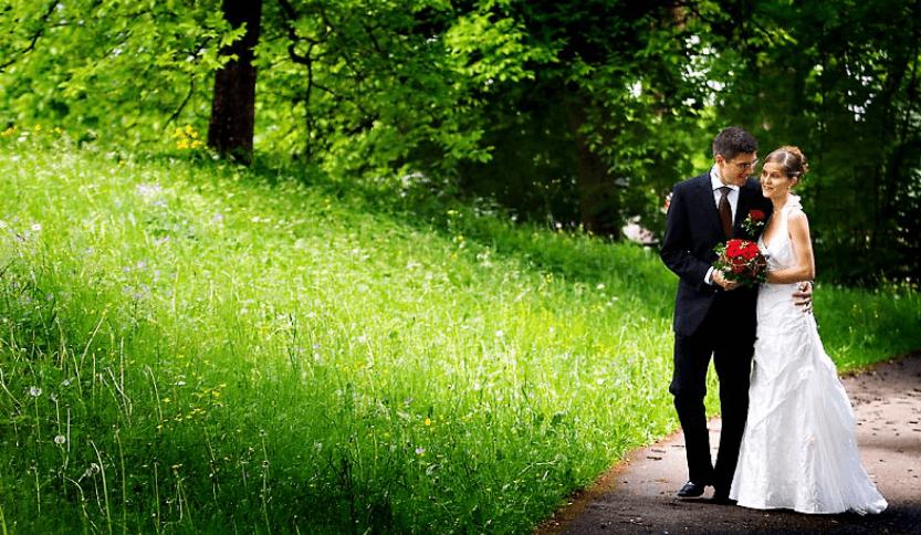 Beispiel: Wunderschöne Hochzeitsfotos, Foto: Traumfoto Hochzeitsfotografie.