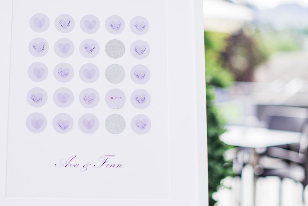 Tree of Love - Fingerabdruck Baum
