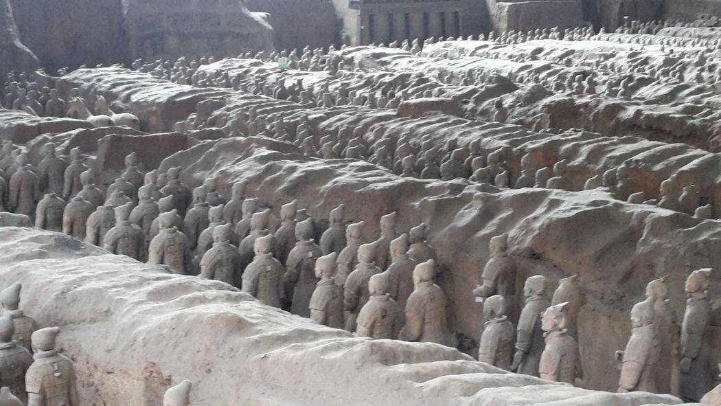 XI'AN - Cina - Esercito di terracotta