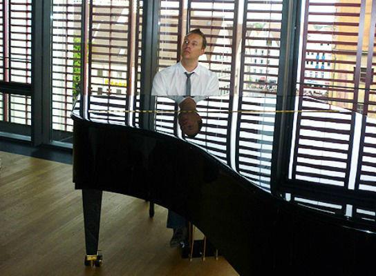 Pianist Dirk Schieborn
