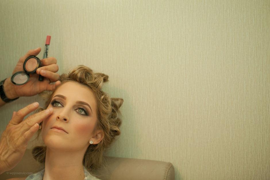 Em pleno Makeup