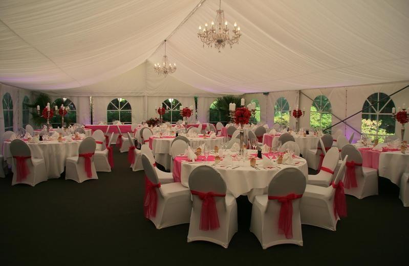 Beispiel: Hochzeitsbankett, Foto: Traumgarten Thalwil.