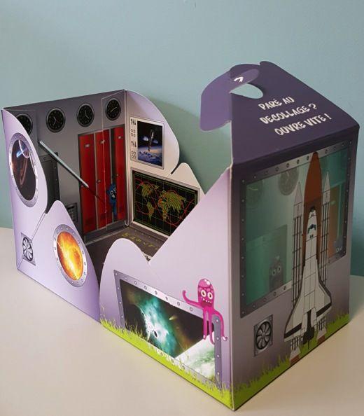Mondes en boîte | Animation enfants