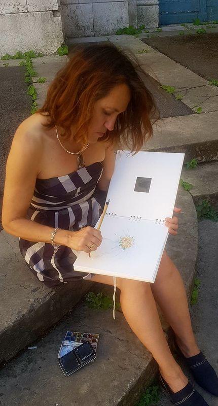 Fabienne Amiel Artiste Peintre