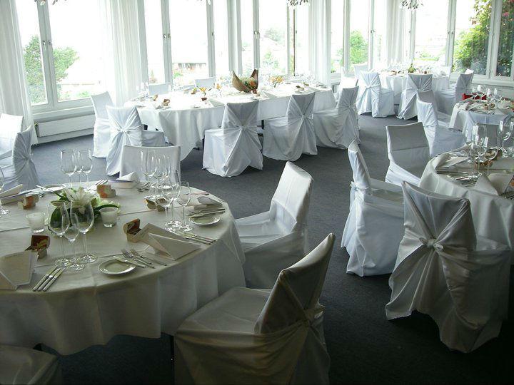 Beispiel: Bankett zur Hochzeit, Foto: Hotel Heiden.