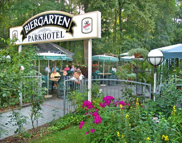 Beispiel: Biergarten, Foto: Parkhotel Meerane.
