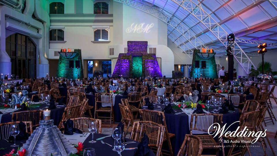 J&S Audio Visual - Weddings Cancún