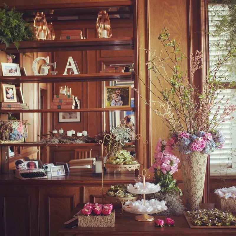Detalhe da mesa lindeza de doces