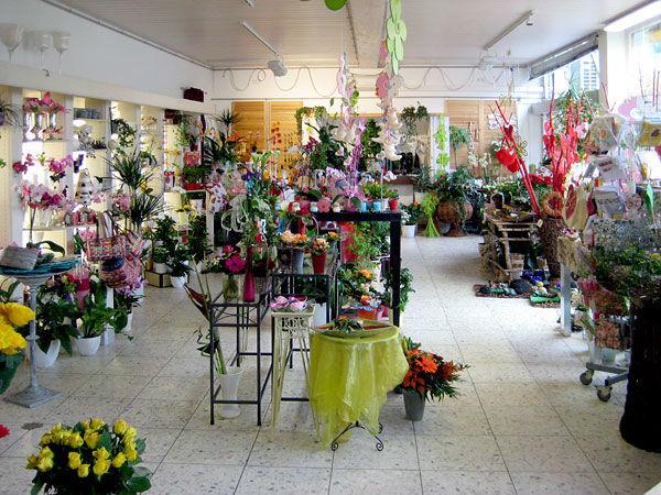 Beispiel: Floristik-Fachgeschäft Dornröschen, Foto: Dornröschen - Blumen Schmidt.