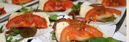 Beispiel: Leckere Häppchen, Foto: Seepferdchen's Catering.