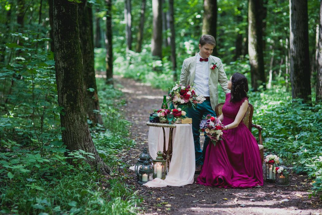 Декор свадеб «Люби и цвети»