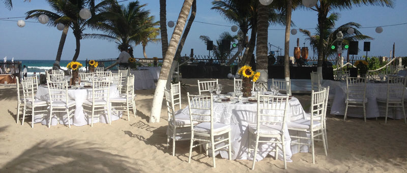 Banquetes y planeación de eventos - Foto Andrade Banquetes