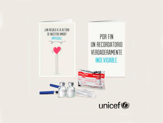 UNICEF Regalo Azul