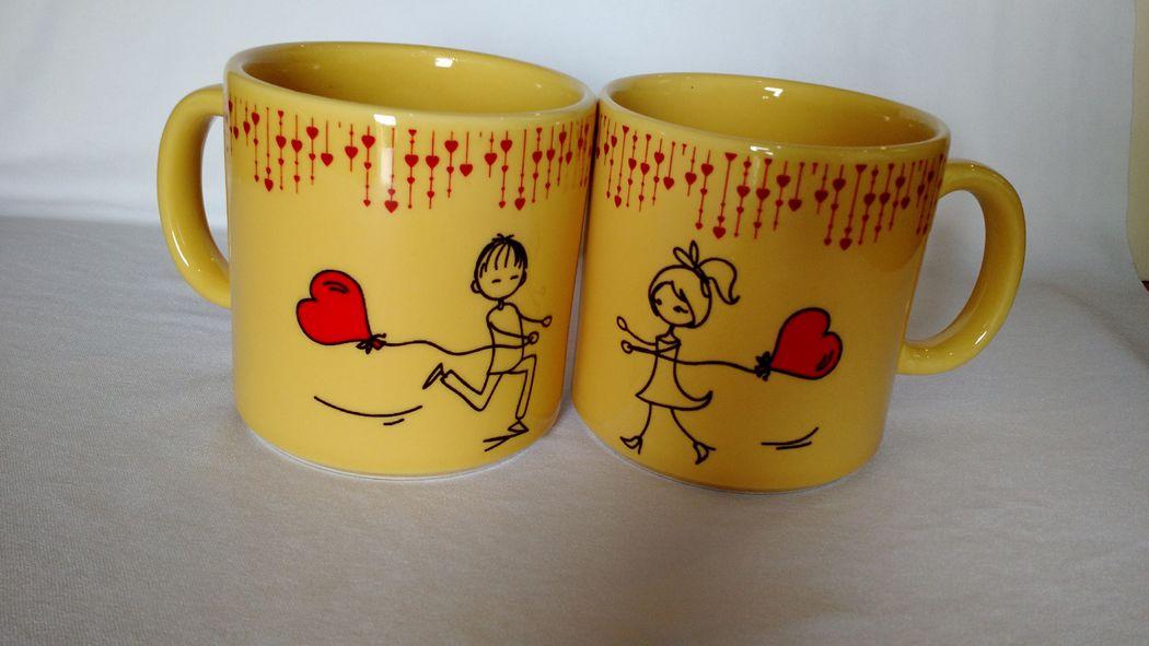 Canecas de cerâmicas personalizada