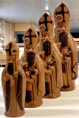 L'espace mariage d'Alain Batt, chocolatier