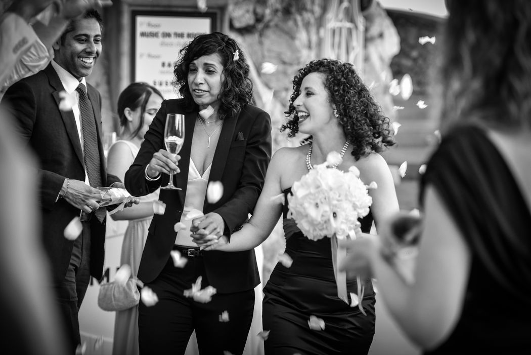 Same sex wedding in Positano