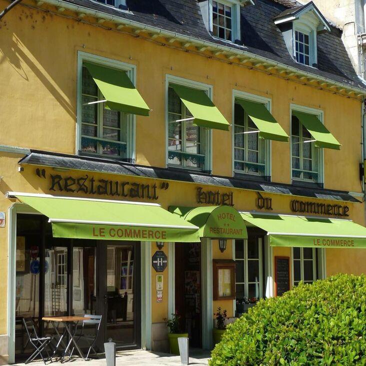 Hôtel** Restaurant du Commerce