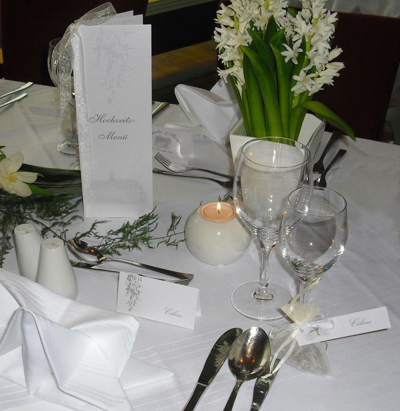 Tisch- & Buffetkarte, Cela-Design