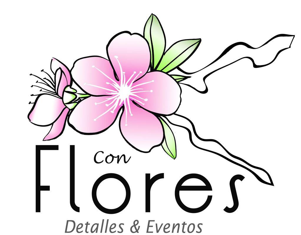 Con Flores Detalles y Eventos