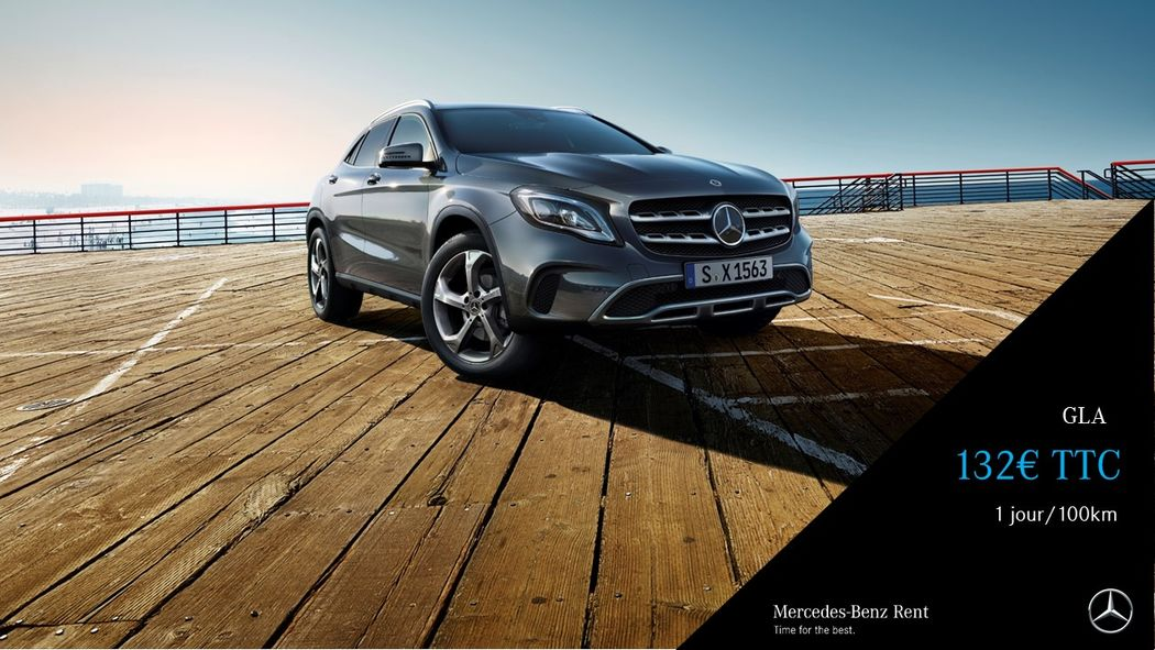 Mercedes-Benz Rent Lyon Saint-Fons