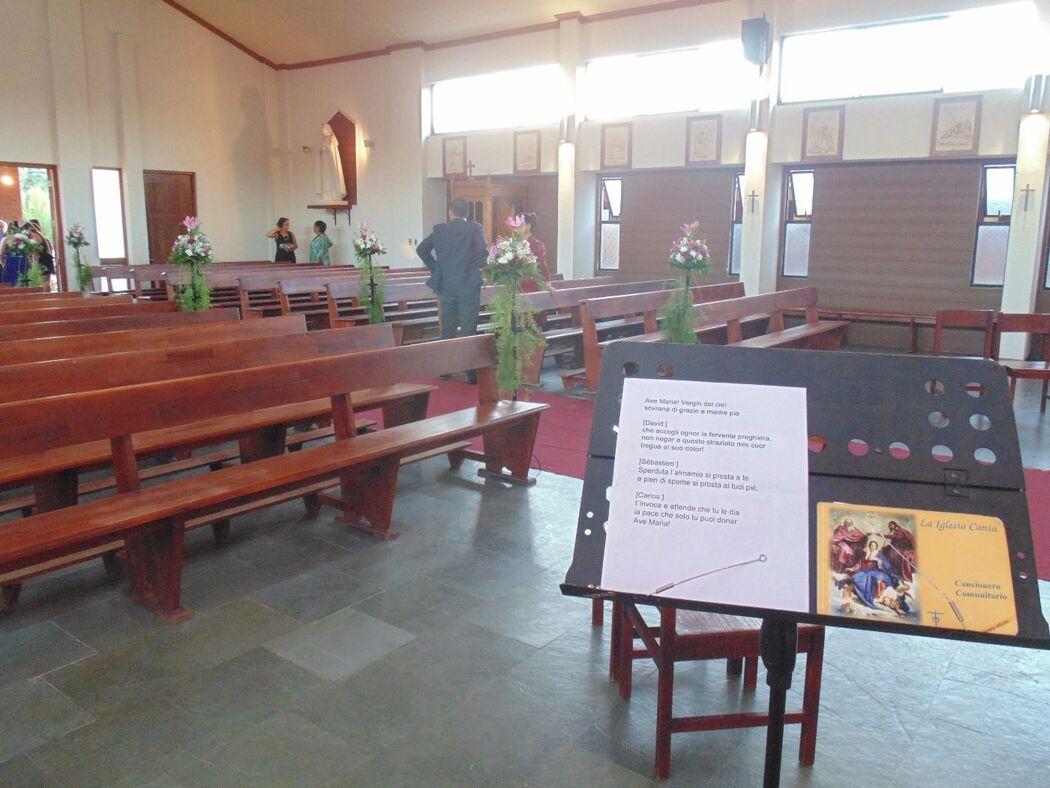 Boda en Iglesia Jesús Maestro, Talca. Febrero de 2015.