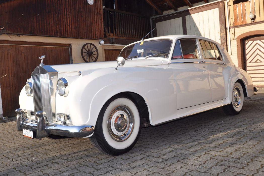 Rolls Royce Silver Cloud II mieten für Hochzeiten