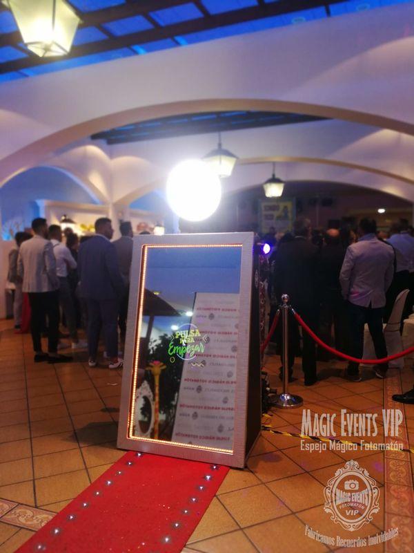 Magic Events VIP Espejo Mágico Fotomatón