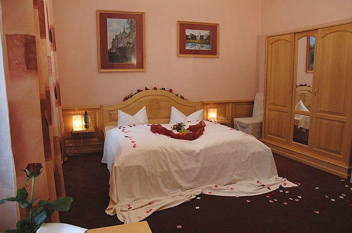 Beispiel: Hochzeitszimmer, Foto: Schloss Boitzenburg.