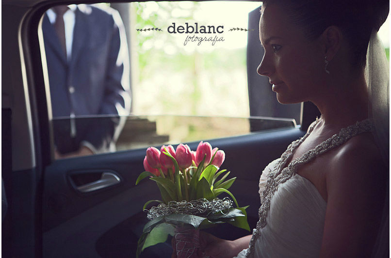 Novia esperando - Deblanc Fotografia
