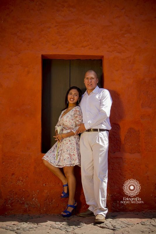 Sesión Preboda Arequipa, Richard y Sandra 2017