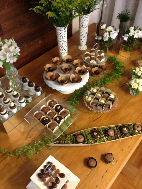 Gallette Chocolates - Mesa Sustentável