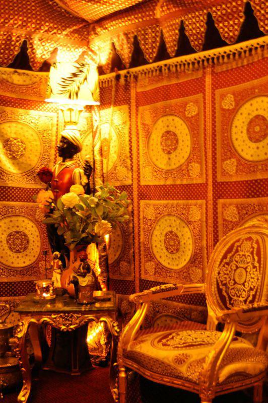 Beispiel: Beleuchtung Innenraum, Foto: MADI - Zelt der Sinne.