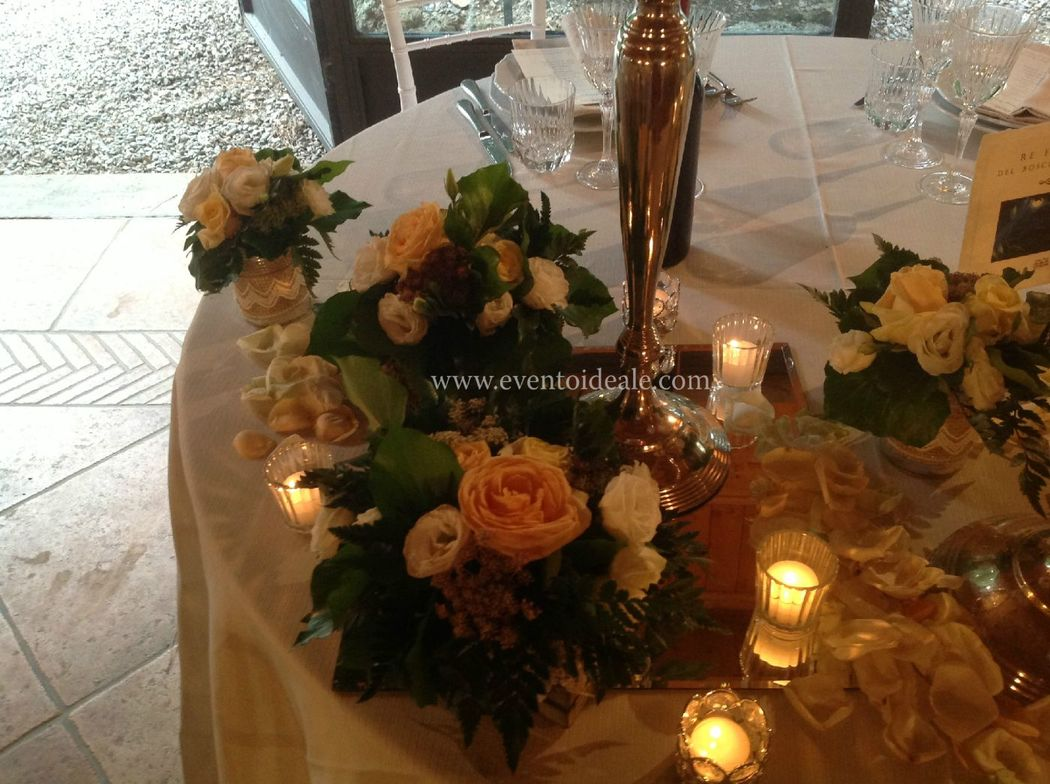 Evento Ideale: Particolare tavolo