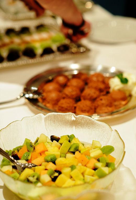 Beispiel: Nachspeisenbuffet, Foto: Seehotel Delphin.