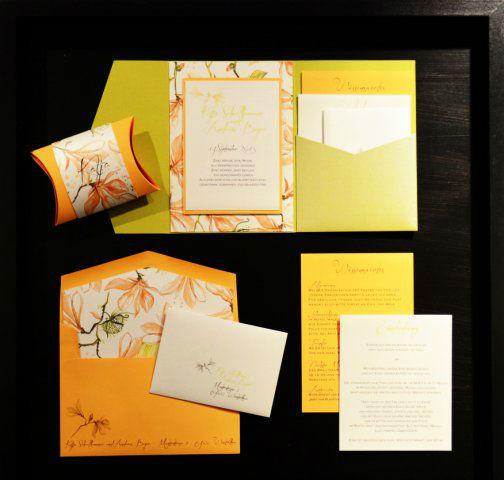 Beispiel: Ihre Hochzeitspapeterie in Ihrem persönlichen Design, Foto: Die Kartenfee.