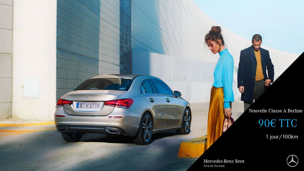 Mercedes-Benz Rent La Teste de Buch