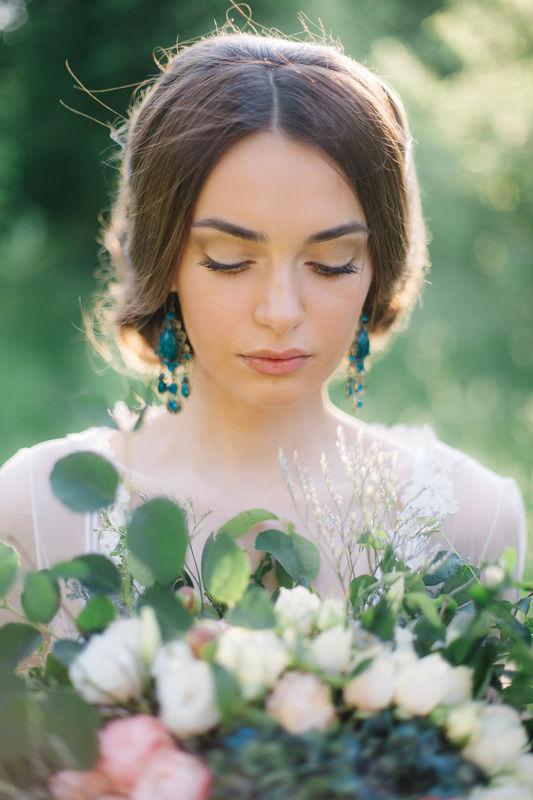 Светлана . Естественные тонна в макияже невест пользуется популярностью