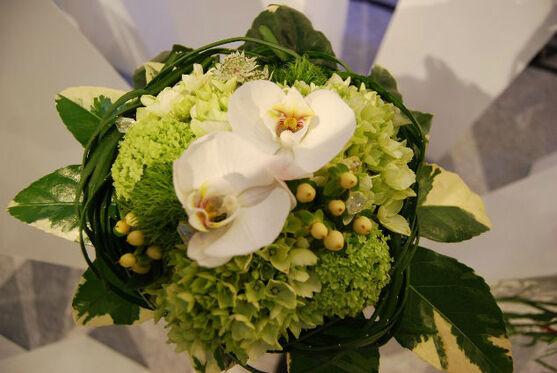 Beispiel: Blumen für Ihren großen Tag, Foto: manufactura florale.