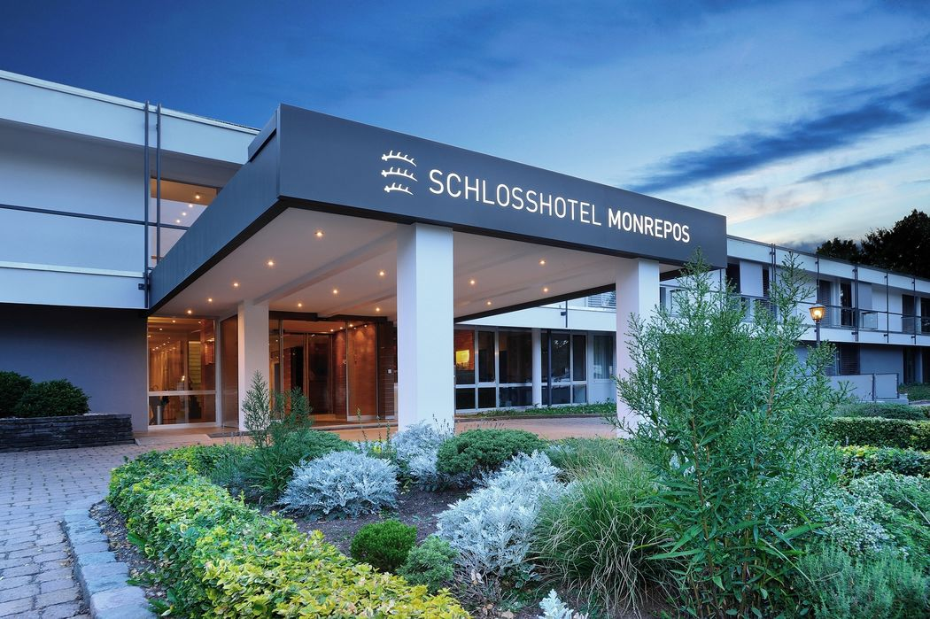 Beispiel: Hoteleingang, Foto: Schlosshotel Monrepos.