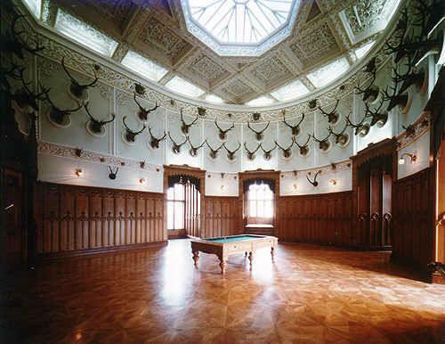 Beispiel: Jagdsaal, Foto: Schloss Wolfsberg.
