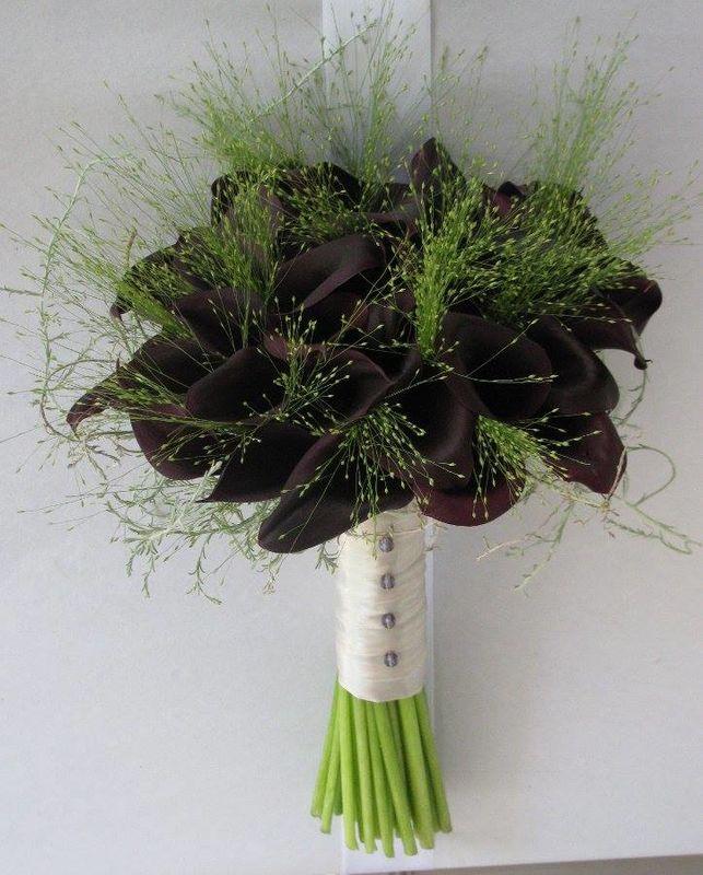 Bouquet de Noiva Jarros Pretos