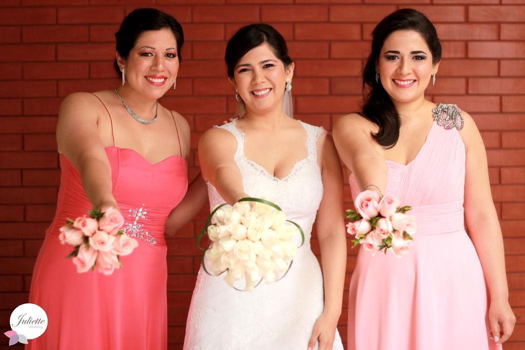 Una linda boda Fiorella
