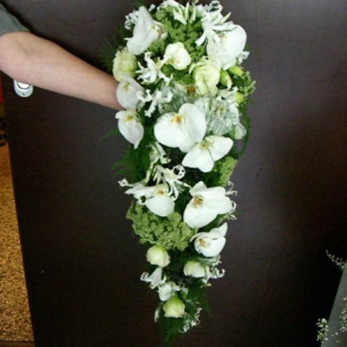 Beispiel: Wunderschöne Brautsträuße, Foto: Blumen Beilner.