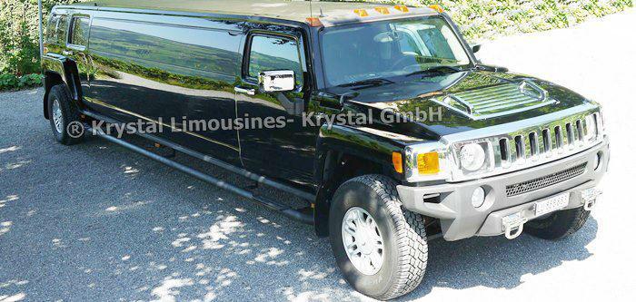 Beispiel: Das ganz besondere Hochzeitsauto, Foto: Krystal Limousines.