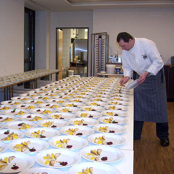 Beispiel: Catering, Foto: Laupheimer Hof.