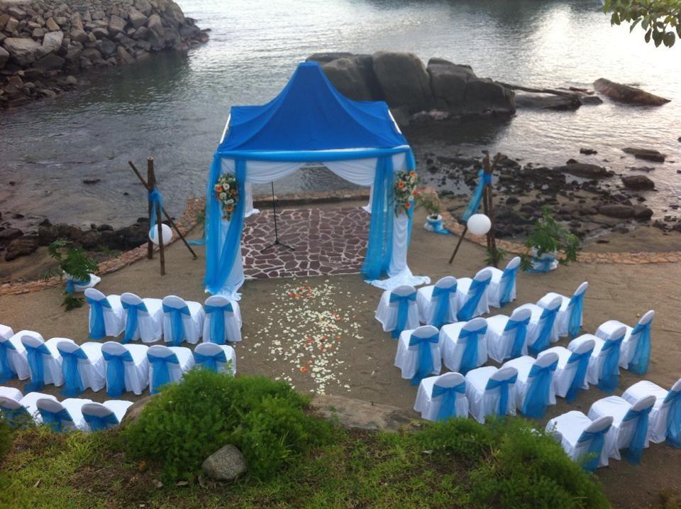 Nuestro Gazebo en Playa puedes llevar a cabo tu ceremonia civil o legal desde 10 hasta 120 peronas